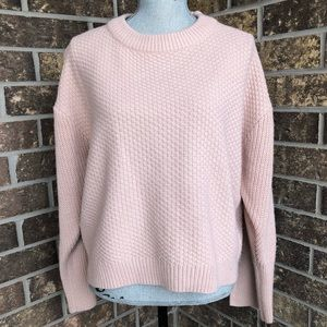 Top Shop Pale Pink Sweater